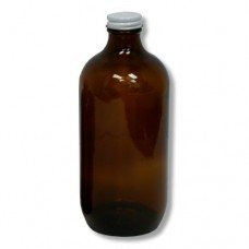 Amber Glass Bottle 16oz