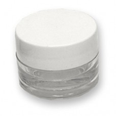 Plastic Jar Clear 1/8oz.