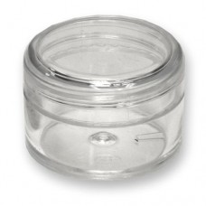 Plastic Jar Clear 20ml DIS.