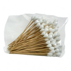 "Cotton Swab (Wooden Handle, Big Head, 6"") (100/Pack)"