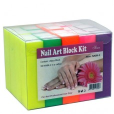 Nail Art Block Kit #150 (20/Pack)