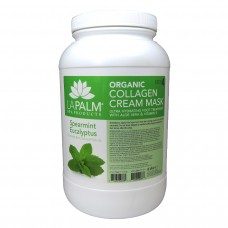 Organic Collagen Cream Foot Mask (Spearmint Eucalyptus) 1Gal