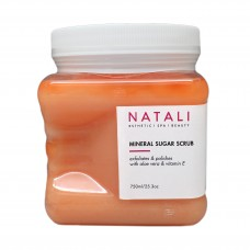 Natali Mineral Sugar Scrub (Orange) 750ml