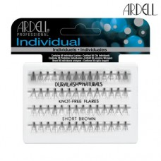 Ardell Individual Lashes Pack - Brown Flare Knot-Free (Short)