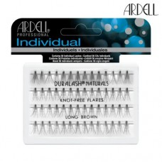 Ardell Individual Lashes Pack - Brown Flare Knot-Free (Long)