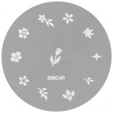 Nail Design Disc #1 (Stainless Steel)