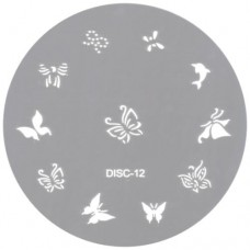 Nail Design Disc #12 (Stainless Steel)