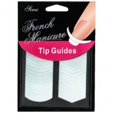 French Manicure Tip Guides #1