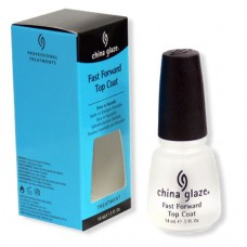 China Glaze Fast Forward Top Coat 0.5oz