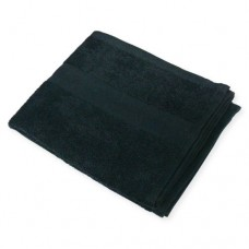 "Hand Towel Bleach Resistant 16x27"" (Black)"