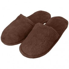 Slippers Velour Brown