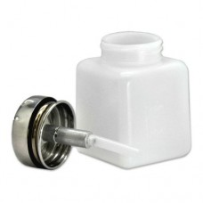 Dispensing Bottle with Stainless Steel Pump 4oz