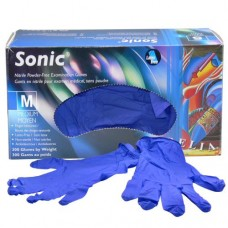 Sonic Nitrile Disposable Gloves Purple (Powder Free) Medium (300/Box)