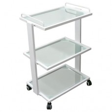 Large Trolley with Three Glass Shelves (Y1201AY)