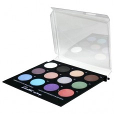 Cinecitta Velvet Matte Cooked Eye Shadow Palette (12 Colours)