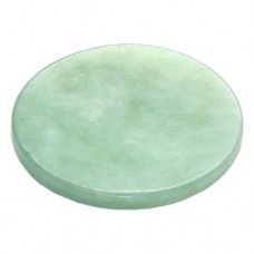 Round Jade Stone for Glue