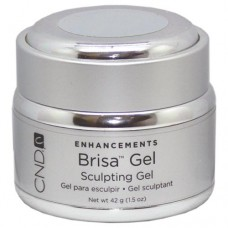 CND Brisa Pure White Opaque Sculpting Gel 1.5oz