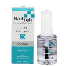Nail Tek Quicken Fast Drying Top Coat 0.5oz