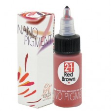 Bella Tattoo Pigment (Red Brown) 20ml