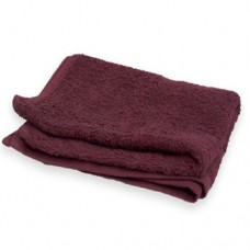 "Hand Towel Bleach Resistant 16x27"" (Burgundy)"