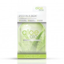 VOESH Pedi in a Box (a Luxurious Ultimate 6 step system) Aloe Vera