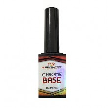 Nurevolution Chrome Base Coat 15ml/0.5oz