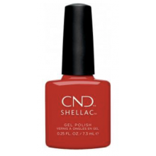 CND Shellac Devil Red (Cocktail Couture)