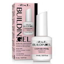 IBD Building Gel Cover Pink 0.5oz / 14ml