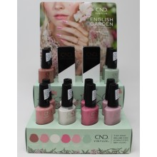CND Vinylux English Garden Collection Pop Display (14Pieces)