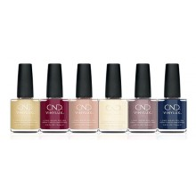 CND Vinylux Party Ready Collection (Display & 14 Pieces: 6 colors + top coat)