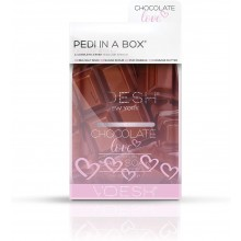 VOESH Pedi in Box Chocolate Love (a Deluxe 4 step: soak, scrub, masque, butter)