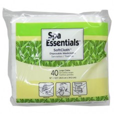 SoftCloth Disposable Large Washcloths (40/Pack)