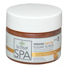 Organic Hot Oil Sugar Scrub (Orange Tangerine) 12oz