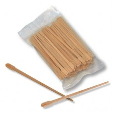 Small Wooden Wax Applicator (100/Bag)