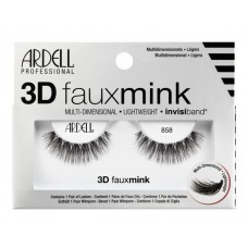 Ardell 3D Faux Mink Lashes #858 (Black)
