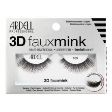 Ardell 3D Faux Mink Lashes #859 (Black)