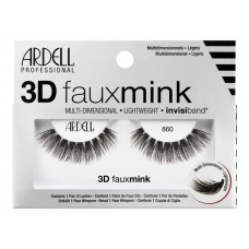 Ardell 3D Faux Mink Lashes #860 (Black)