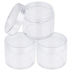 Plastic Jar Clear 15ml