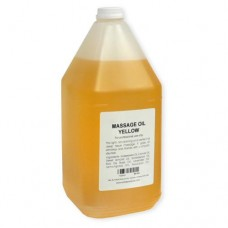Massage Oil (Yellow) 1Gal