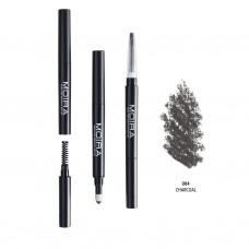 MOIRA 3 in 1 Perfect Brow Charcoal