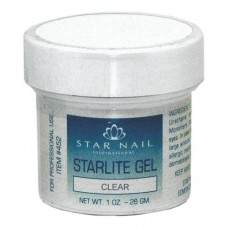 Star Nail UV Sculpting Gel Clear 1oz