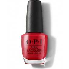 OPI Red Head Ahead