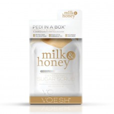 VOESH Pedi in a Box (a Luxurious Ultimate 6 step system) Milk & Honey