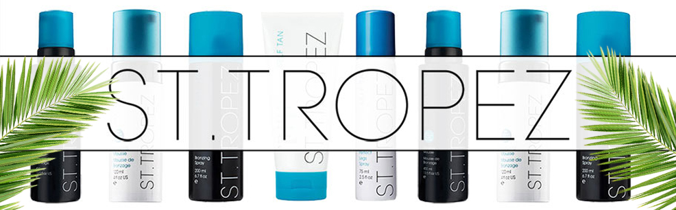 St-Tropez self-tanning line