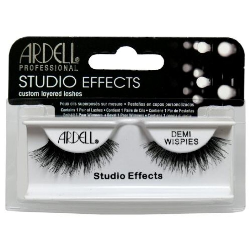 8e0f10a92ef Ardell Studio Effects Lashes Demi Wispies (Black) - Natali Products Inc