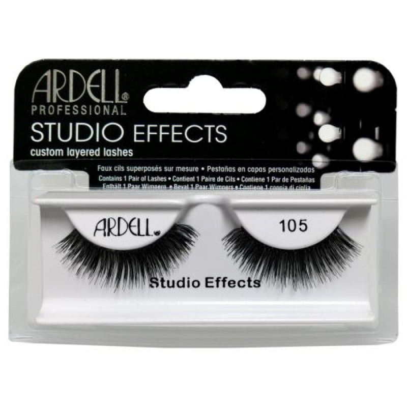 93cd6b27db9 Ardell Studio Effects Lashes #105 (Black) - Natali Products Inc