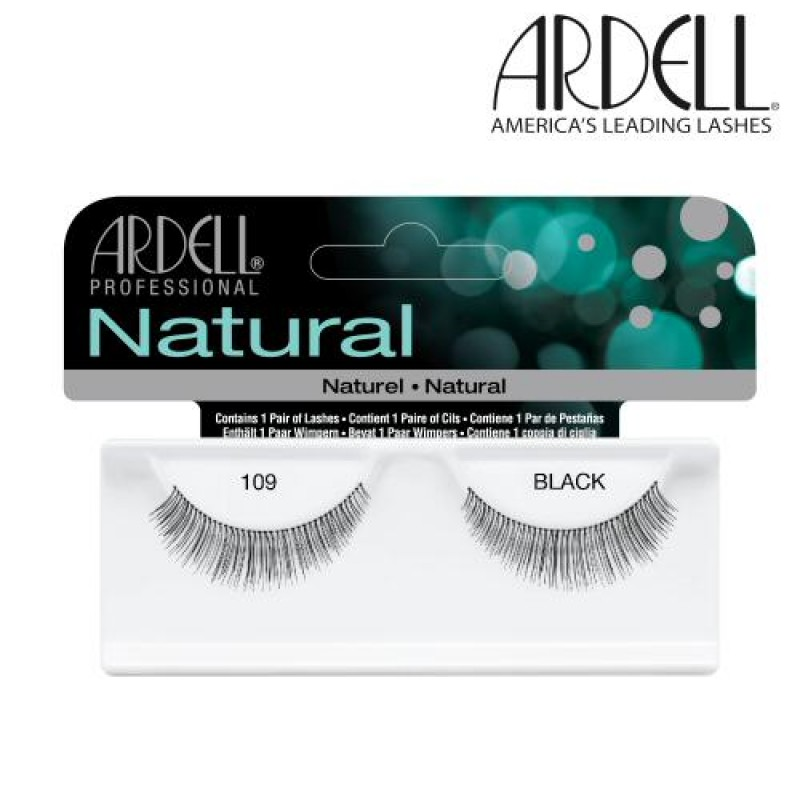 03e229c9a84 Ardell Natural Lashes #109 (Black) - Natali Products Inc