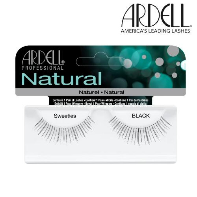69d487ca2e7 Ardell Natural Lashes Sweeties (Black) - Natali Products Inc