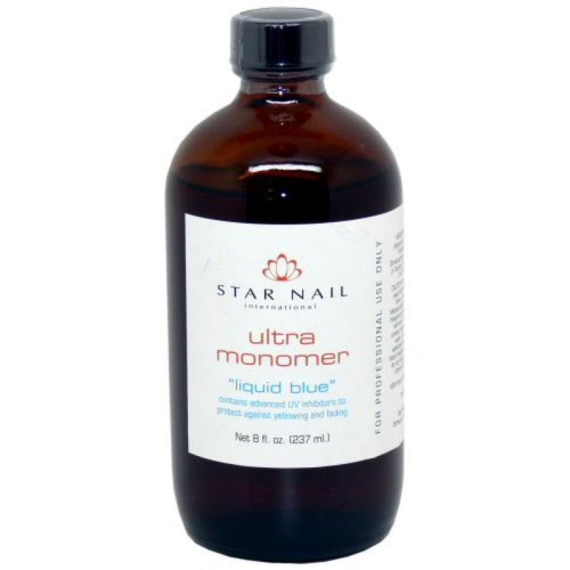 Star Nail Ultra Acrylic Monomer Liquid 8oz - Natali Products Inc