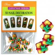 3D Nail Decoration Christmas Gift